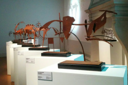 Han Meilin in Venice - iraon animals