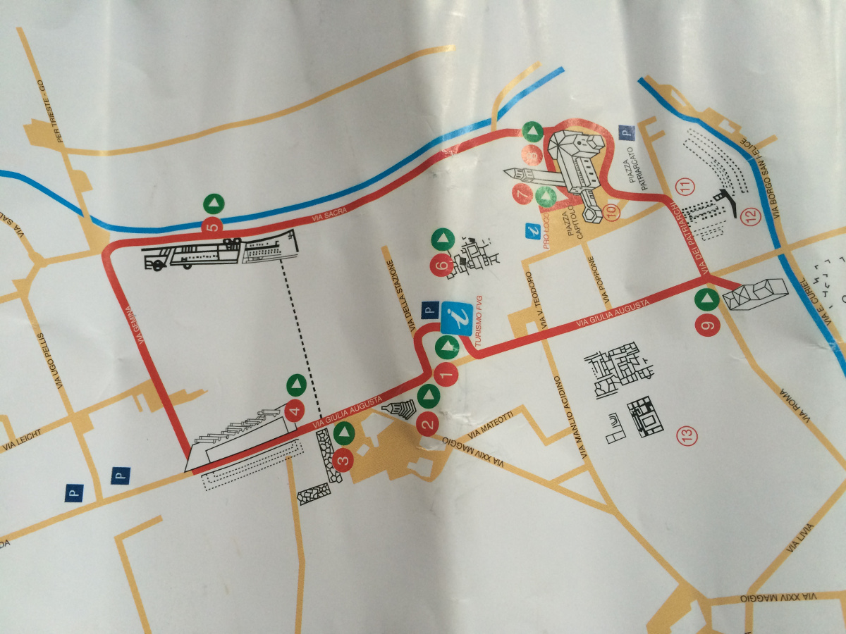 Itinerary of Aquileia