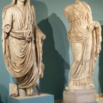 Statues at Archeological Museum in Aquileia