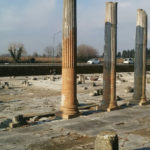 Columns in Roman Forum of Aquileia