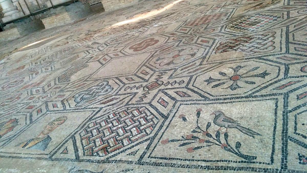 Mosaics in Basilica of Aquileia