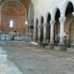 The large mosaic floor in Aquileia