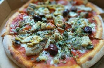 Pizza Capricciosa Vegan