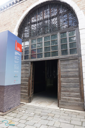 MC Biennale entrance arsenale © The Venice Insider