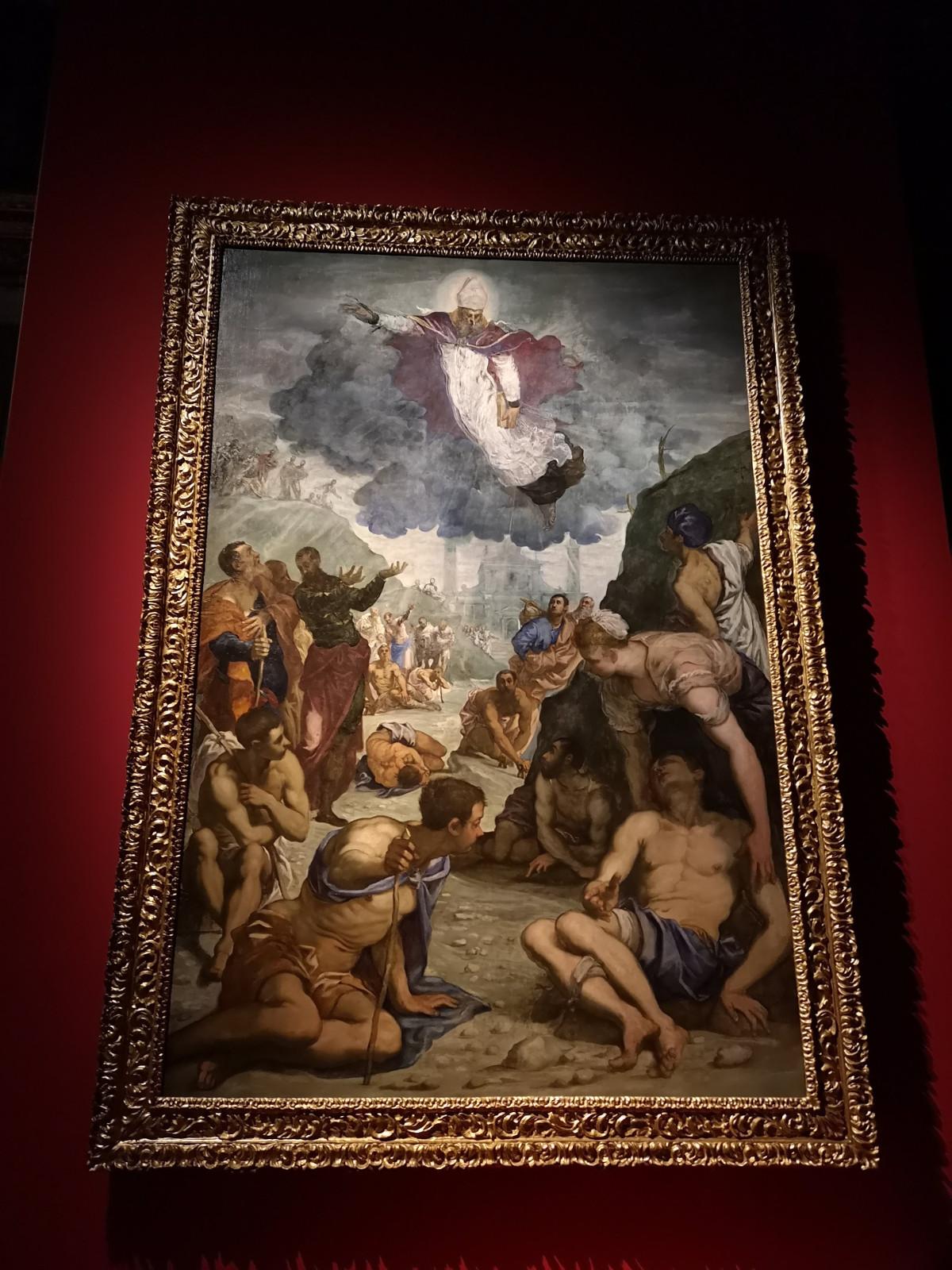 Sant'Agostino risana gli sciancati - Jacopo Robusti, Tintoretto - Musei Civici di Vicenza
