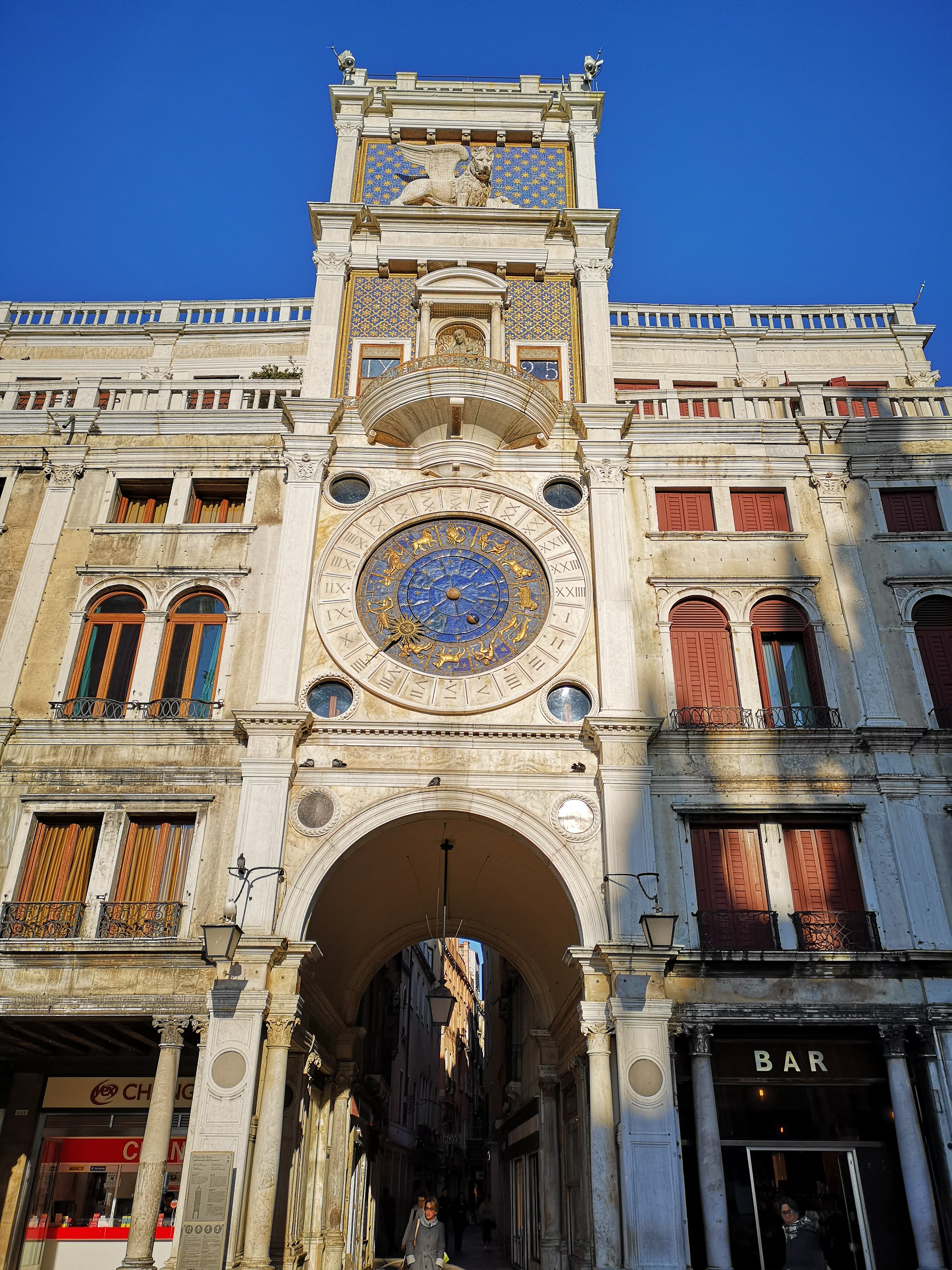 clock tower of venice