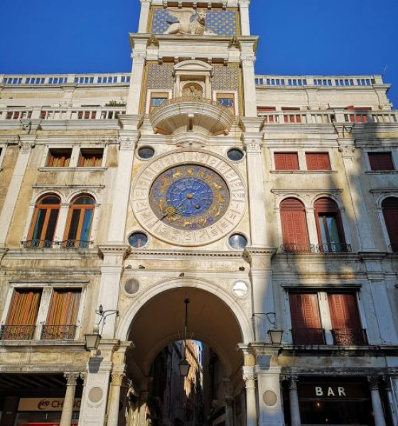 The Clock Tower of Venice