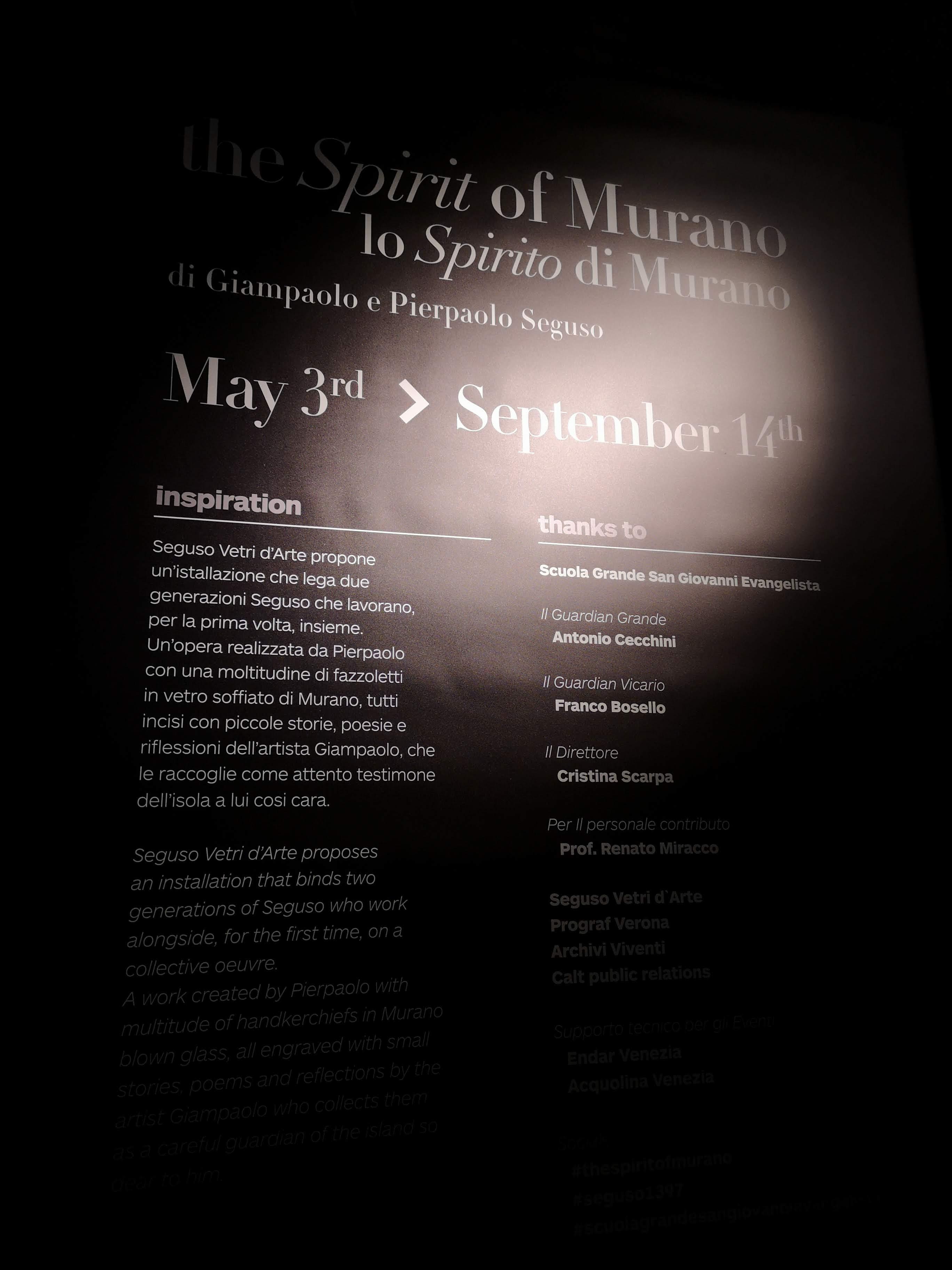 The Spirit of Murano