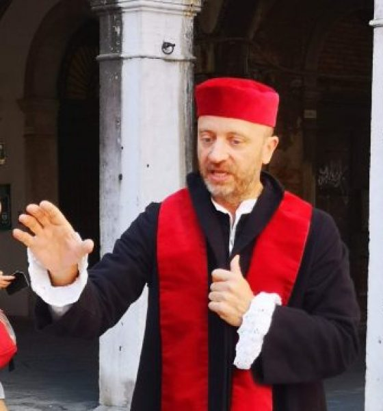 Walking with Shylock in Venice
