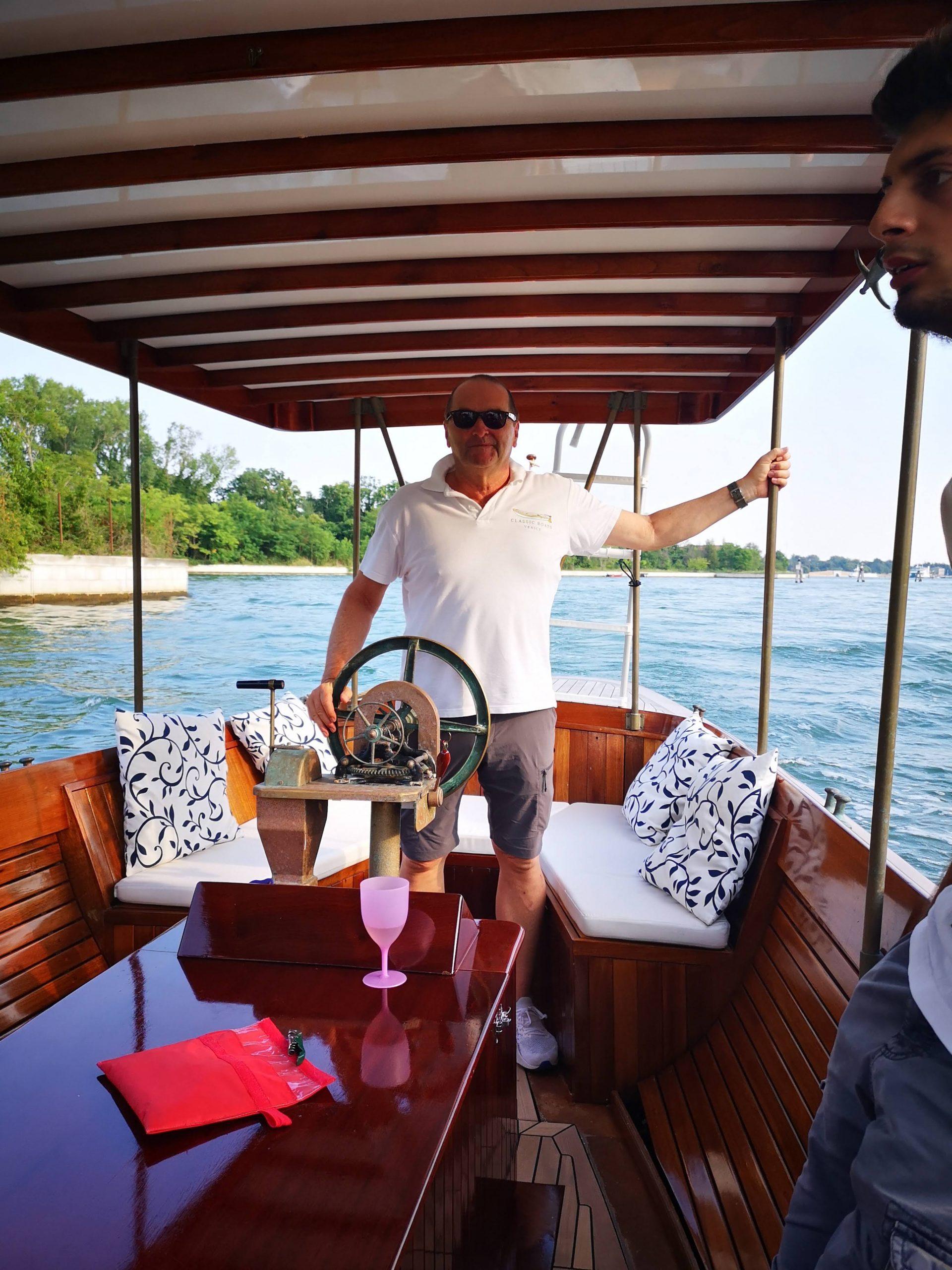 carl georg zwerenz venice classic boats