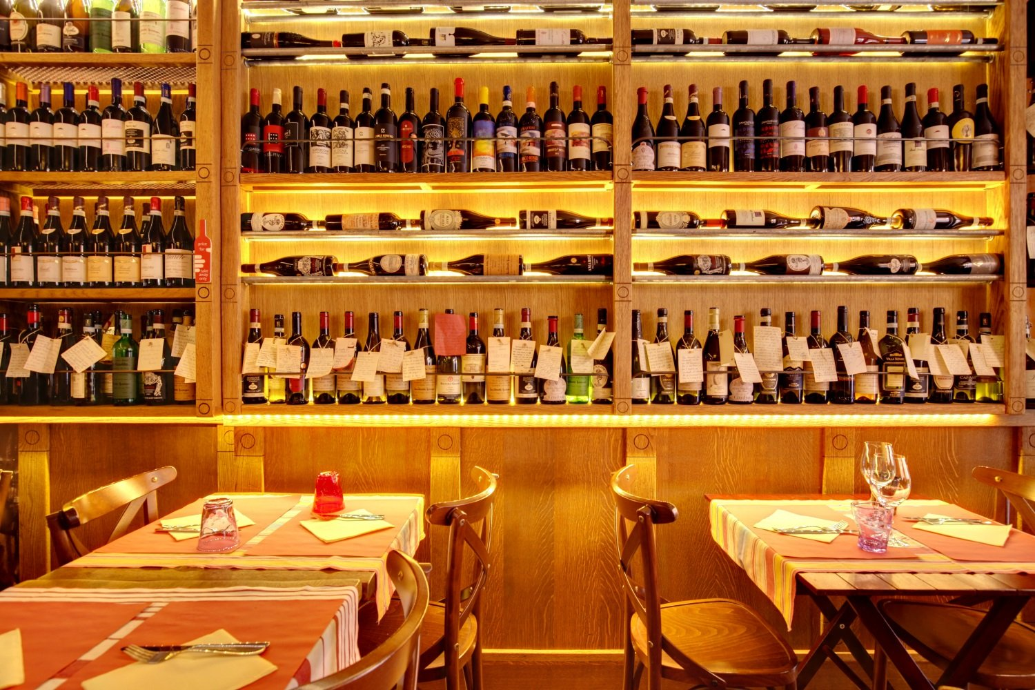 Wines at All'Amarone