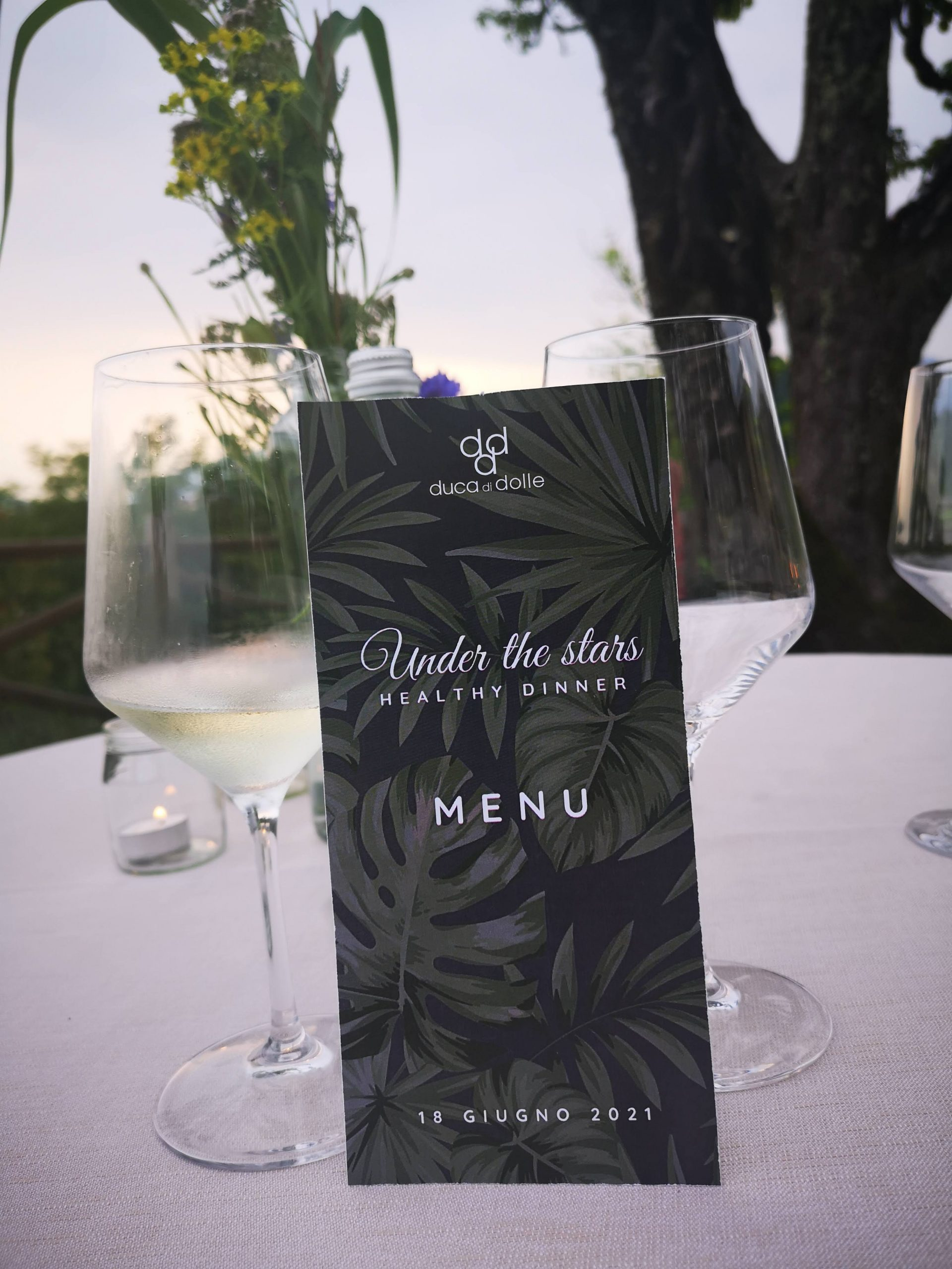 under the stars dining experience duca di dolle
