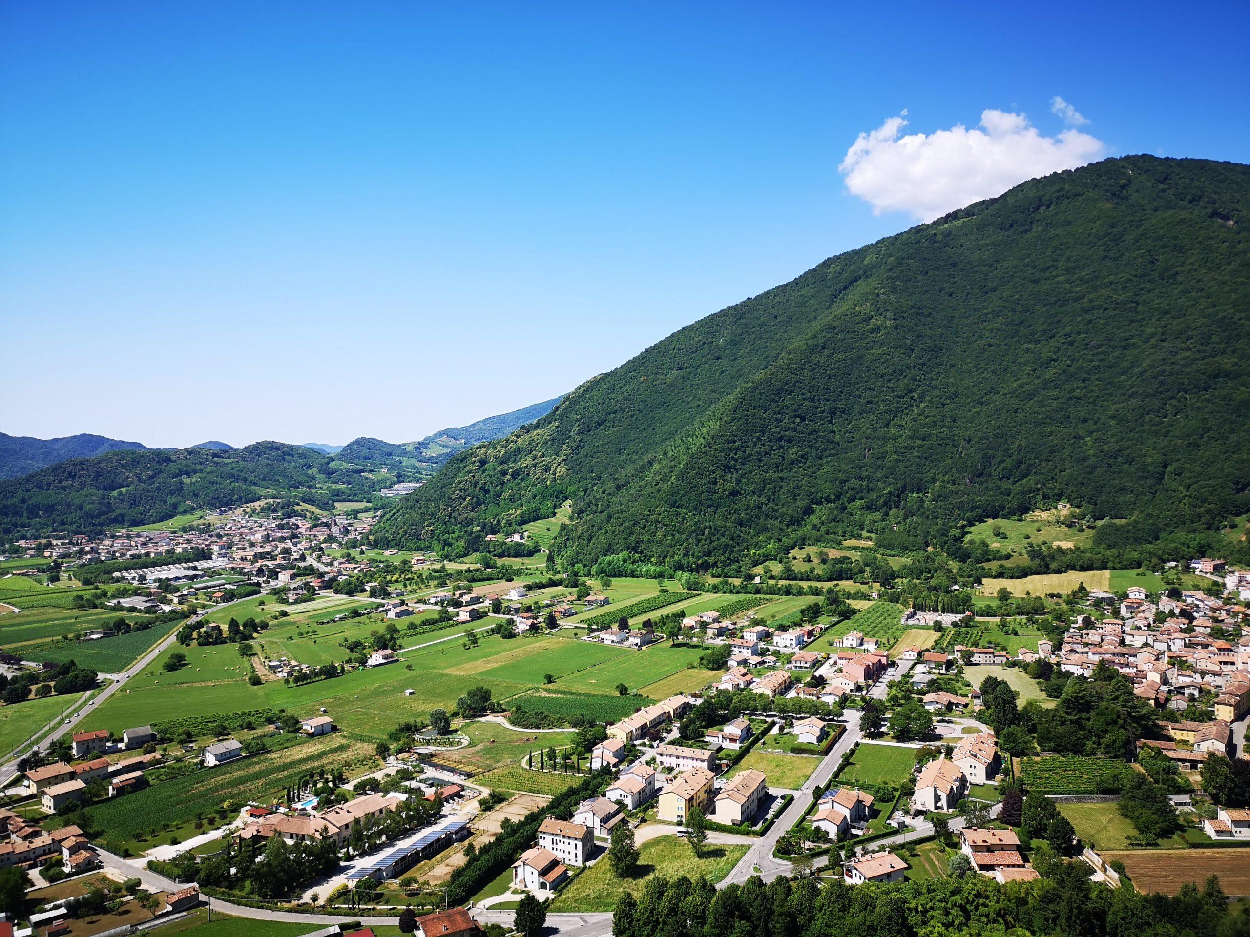 view from castelbrando