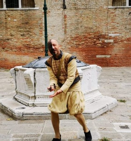 Walking with Othello in Venice