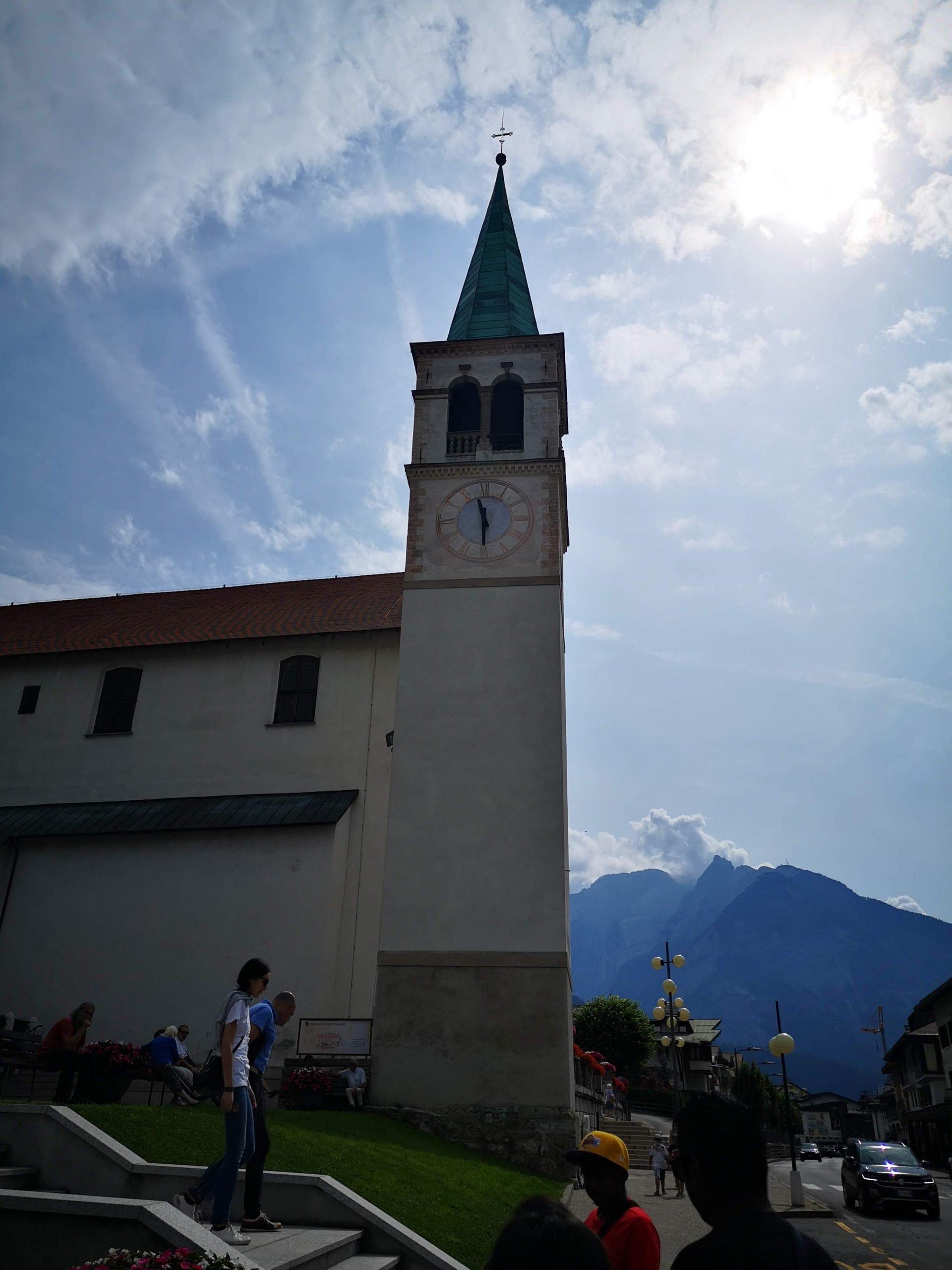chiesa santa giustina auronzo