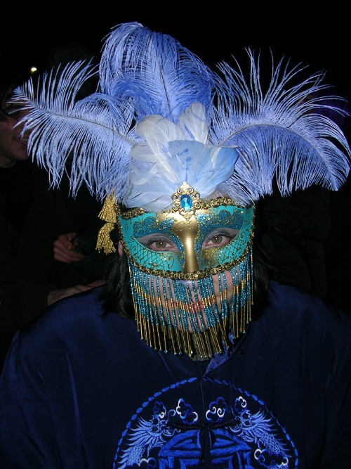 Venice Carnival and the theatre